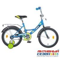 """Детский велосипед Novatrack Urban 16""""  (Черный; Белый; Красный; Синий)"""