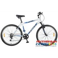 "Велосипед Mikado Blitz (26"" 18 скор.) (Р-р = 18""; Цвет: Синий/Белый) Рама Сталь"