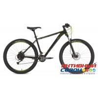 "Велосипед Stinger Genesis STD (2018) (29"" 18 скор.) (Р-р = 20""; Цвет: Черный) Рама Алюминий"