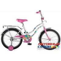"""Детский велосипед Novatrack Tetris 16"""" (Розовый; Белый; Синий; Фиолетовый)"""