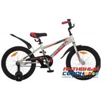 """Детский велосипед Novatrack Lumen 16"""" (Черный) Рама Алюминий"""
