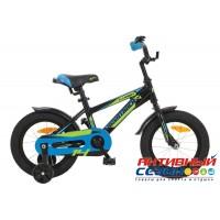 """Детский велосипед Novatrack Lumen 18"""" (Серебристый; Зеленый; Черный) Рама Алюминий"""