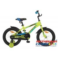 """Детский велосипед Novatrack Lumen 18"""" (Серебристый) Рама Алюминий"""