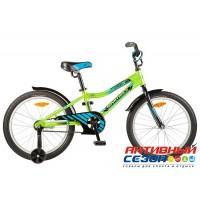 """Детский велосипед Novatrack Cron 20"""" (Зеленый; Синий) Рама Алюминий"""