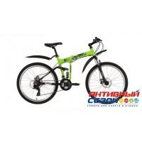 """Велосипед Foxx ZING F2 (26"""" 21 скор.) (Цвет: зеленый) Рама Алюминий"""