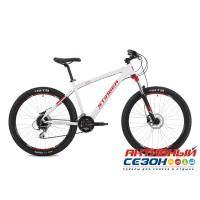"Велосипед Stinger Reload Evo (27.5"" 24 скор.) (Р-р = 16""; Цвет Белый) Рама Алюминий"