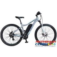 "Электровелосипед Stinger Siena E3 (2018) (27.5"") (Р-р = 17""; Цвет: серый) Рама Алюминий"