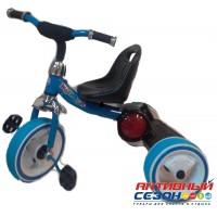 Трехколесный велосипед Kinder светящиеся колеса (синий)
