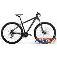 "Merida Big.Nine 40-D (2018) (29"" 27 скор.) (Р-р = 19; 21; Цвет: MattBlack/Grey) Рама Алюминий"