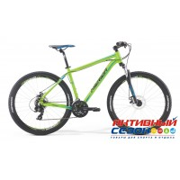 "Merida Big.Seven 10-MD 2017 (27,5"" 21 скор.) (Р-р = 18.5; 20; Цвет: MattGreen/Black/Blue/Black) Рама Алюминий"