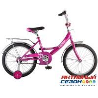 """Велосипед Novatrack Vector 18"""" (Фиолетовый)"""