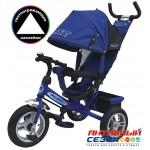 Трехколесный велосипед PILOT надувные колеса 12' и 10' (Синий (PTA3B))