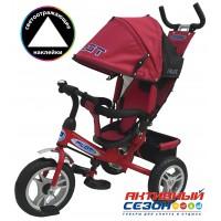 Трехколесный велосипед PILOT надувные колеса 12' и 10' (Красный (PTA3R))