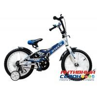 Детский велосипед Stels Jet 18 (2017) (Белый-Синий)