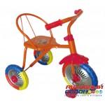 """Трехколесный велосипед Тип-Топ 313, колеса ПВХ 10"""" и 8"""" (красный, лимонный, синий)"""