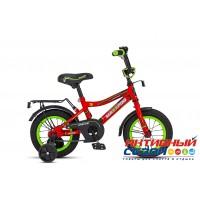 Детский велосипед MaxxPro Onix 12 (2018) (Красный (Матовый)/Черный/Зеленый; Серый (Матовый)/Черный/Красный)