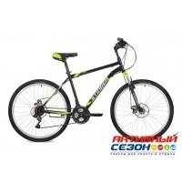 """Велосипед Stinger Caiman (26"""" 18 скор.) (Р-р = 16""""; Цвет: Черный) Рама Сталь"""