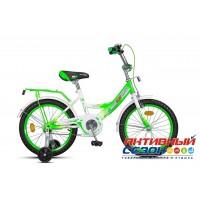 Детский велосипед MaxxPro 18 (2018) (Зеленый/Белый (Z18204(18)))