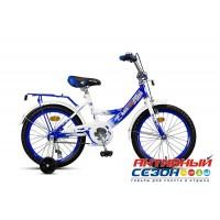 Детский велосипед MaxxPro 18 (2018) (Синий/Белый (Z18206(18)))