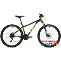 "Велосипед Stinger Zeta Evo (27,5"" 12 скор.) (Р-р = 18"" ; Цвет: Зеленый) Рама Алюминий"