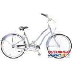 """Велосипед Stinger CRUISER LADY (26"""", 1 скор.) (Р-р= 16,5""""; Цвет: синий, зеленый)"""