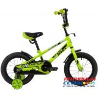 """Велосипед NOVATRACK EXTREME (14"""" 1 скор)  (Цвет : Салатовый)"""
