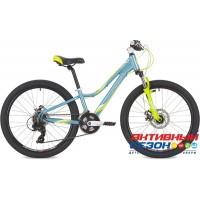 """Велосипед Stinger Galaxy Evo (24"""" 12 скор.) (Р-р = 11; Цвет: Синий) Рама Алюминий"""