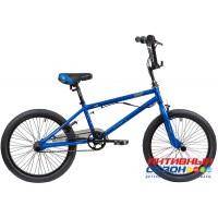 Велосипед Stinger BMX JOKER 20 (20'' 1 скор.) (Цвет: Синий) Рама Сталь