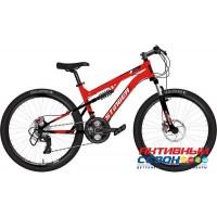"""Велосипед Stinger Discovery D (24"""" 18 скор.) (Р-р = 14""""; Цвет: красный) Рама Сталь"""