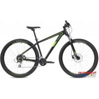 """Велосипед Stinger Reload Std (27,5"""" 16 скор.) (Р-р =  18"""" Цвет: Серебристый, Черный) Рама Алюминий"""