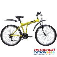 """Велосипед Foxx ZING H1 (26"""" 18 скор.) (Р-р = 18"""" Цвет: Зеленый) Рама Сталь"""