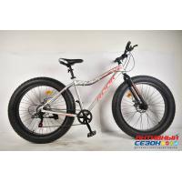 """Велосипед Rook FA260D (26"""" 7 скор.) (Цвет: серебристый/красный) Рама алюминий"""