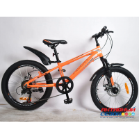 "Велосипед  Rook MA200D (20"" 7 скор.) (Цвет: оранжевый) Рама алюминий"