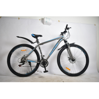 "Велосипед Rook MA290D (29"" 21 скор.) (Цвет: серый/синий) Рама алюминий"