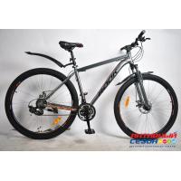 """Велосипед Rook MA291D (29"""" 24 скор.) (Цвет: серый/оранжевый) Рама алюминий"""