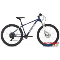 """Велосипед Stinger QUEST STD (27,5"""" 11 скор.) (Р-р= 18"""" Цвет: синий) Рама Алюминий"""