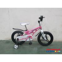 """Детский велосипед Rook City (18"""" 1 скор.) (  Цвет: розовый, черный) Рама из магниевого сплава"""