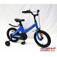 """Детский велосипед Rook Hope (14"""" 1 скор.) (  Цвет: синий, розовый) Рама из магниевого сплава"""
