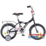 """Детский велосипед NOVATRACK 14"""" BMX (Черный/Серый)"""