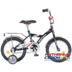 """Детский велосипед NOVATRACK 16"""" BMX (Черный)"""