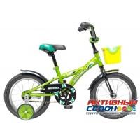 """Детский велосипед NOVATRACK 14"""" Delfi (синий/голубой; салатовый/чёрный; красный/бордовый)"""