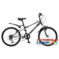 "Велосипед Novatrack Extreme (20"" 6 скор.) (Цвет: Темно-Серый) Рама Сталь"