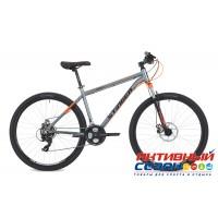 "Велосипед Stinger Graphite Std (2018) (27,5"" 21 скор.) (Р-р = 16""; 18""; Цвет: Серый) Рама Алюминий"