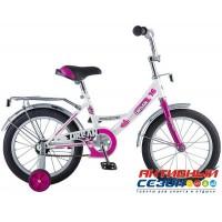 """Детский велосипед Novatrack Urban 18"""" (Черный; Красный; Синий)"""