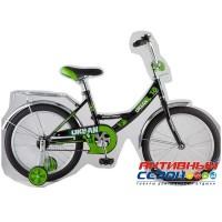 """Детский велосипед Novatrack Urban 18"""" (Фиолетовый; Черный)"""