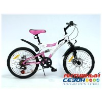"Велосипед EUROTEX VEGA (20"" 6 скор.) Рама Сталь"