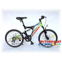 "Велосипед EUROTEX NORD (20"" 6 скор.) Рама Сталь"