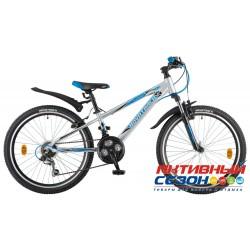 """Велосипед NOVATRACK LUMEN (24"""" 18 скор.) (Р-р = 13"""", Цвет: Серый) Рама Алюминий"""