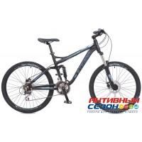 "Велосипед Stinger Magnum (26"" 21 скор.) (Р-р = 18.3""; Цвет: Синий) Рама Алюминий"