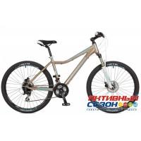 """Велосипед Stinger Siena SD (2017) (26"""" 24 скор.) (Р-р = 17""""; Цвет: Коричневый) Рама Алюминий"""
